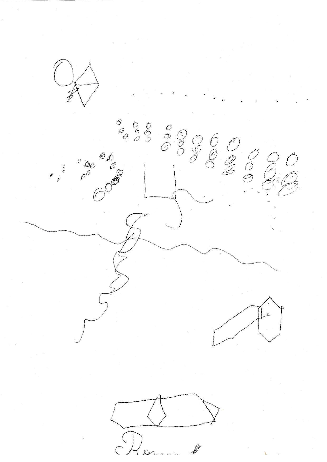 1er dessin ABG Test de Romain