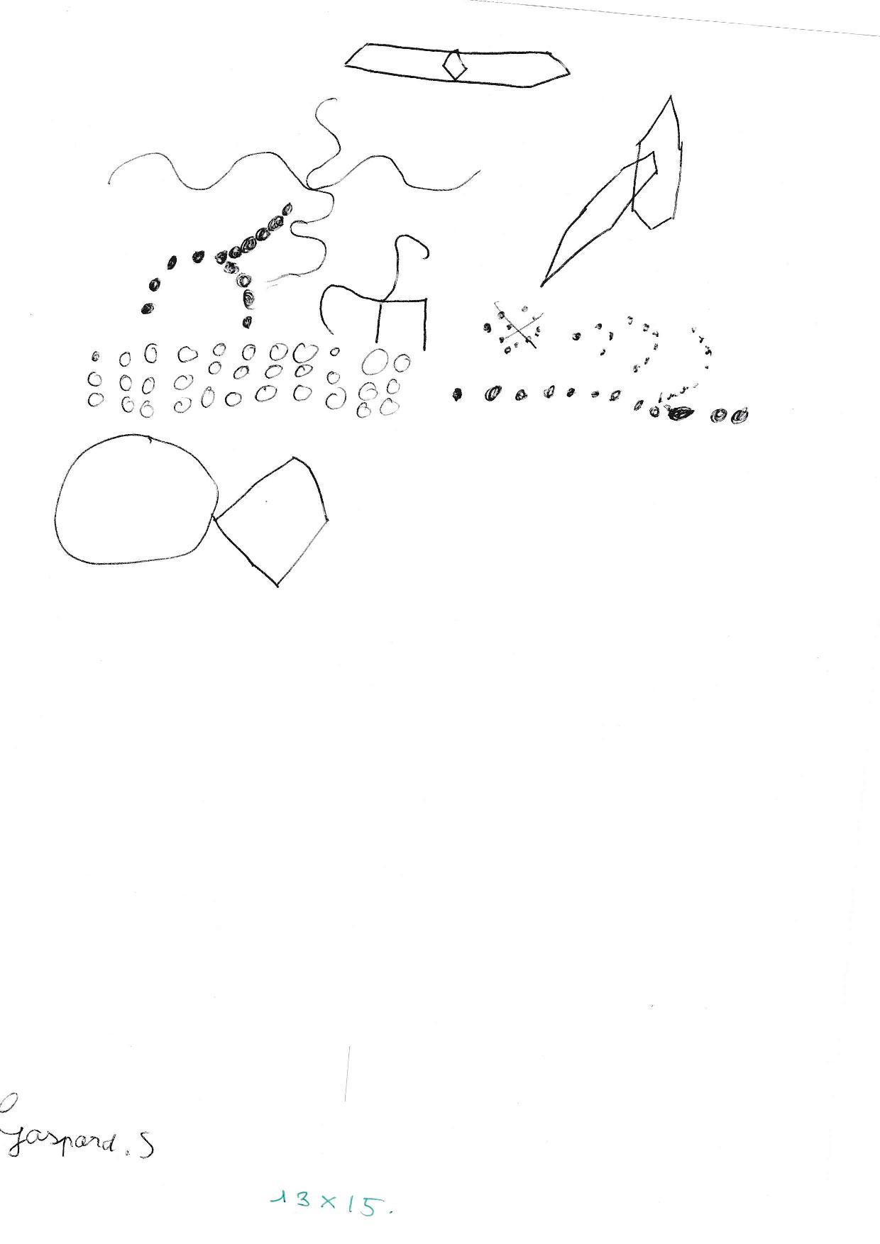 1er dessin ABG Test Gaspard